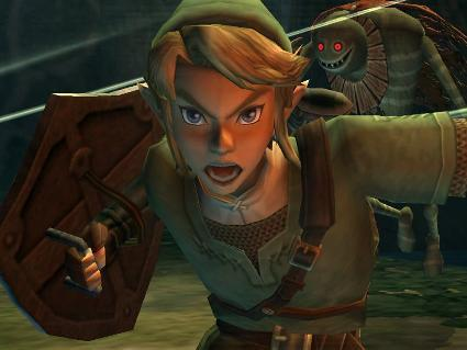 Twilight Princess -- new controls in action