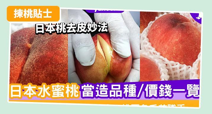 日本水蜜桃當造季節/品種/價錢一覽!