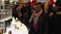 Shoppers cautious on Black Friday