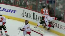 Zac Rinaldo goes on checking spree vs Flames