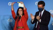 La droite triomphe aux régionales à Madrid, revers pour Pedro Sánchez et Podemos