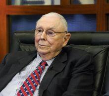 Buffett's right-hand man says US stock market is overvalued