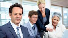 Vince Vaughn and His 'Unfinished Business' Stock Photos