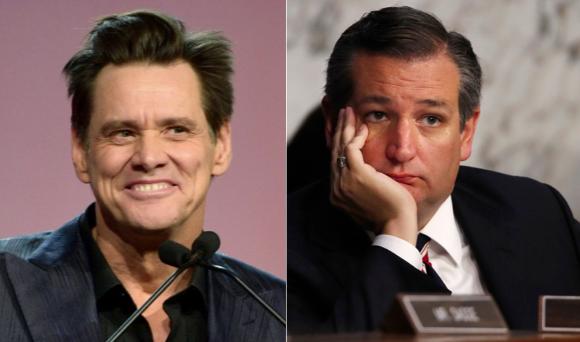 Ted Cruz furious about Jim Carrey's latest cartoon on the Alabama abortion law