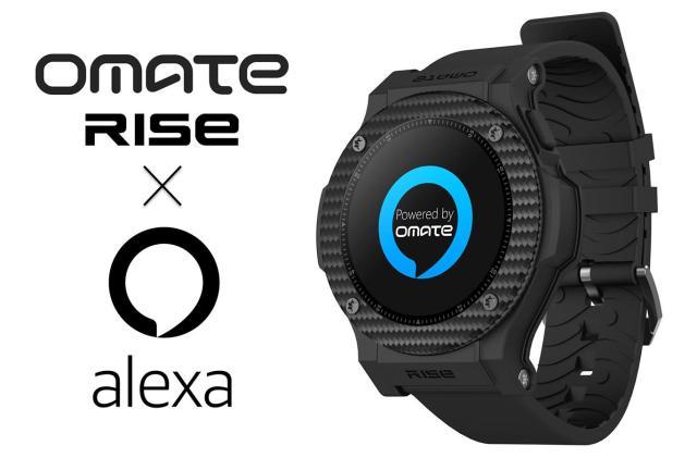 Omate Rise 3G smartwatch slaps Amazon Alexa on your wrist