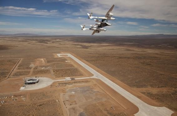 First commercial spaceport christens inaugural runway in New Mexico desert (video)