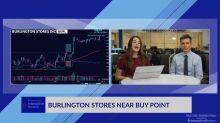 Burl Nears Buy Point