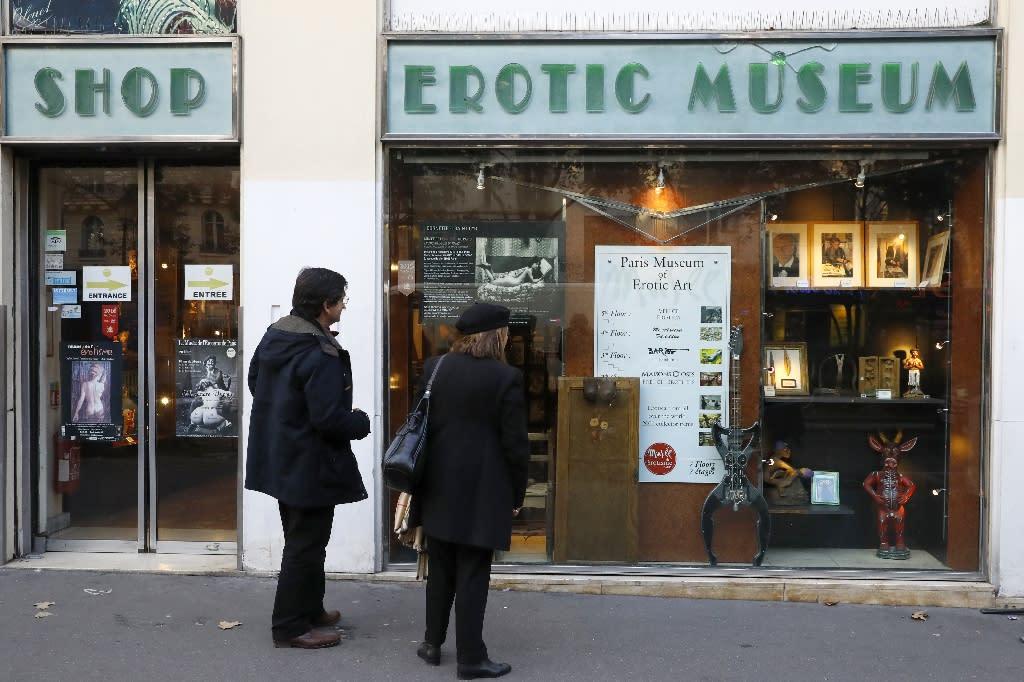 Sex sells: Erotic museum's closing sale a big hit