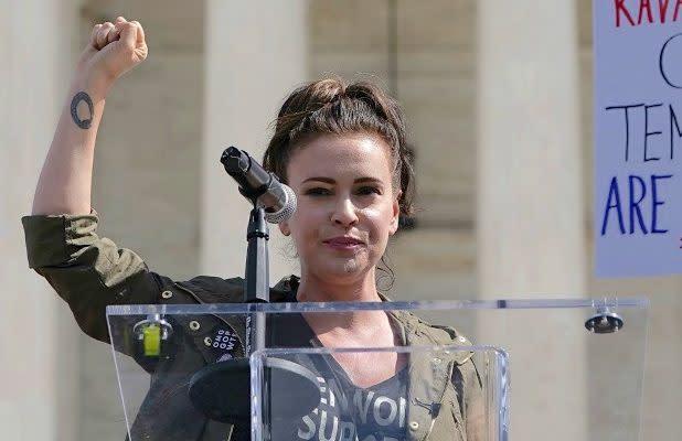 Alyssa Milano Calls for 'Sex Strike' in Response to Georgia's Anti-Abortion Law