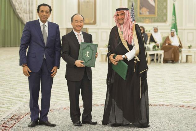 SoftBank and Saudi Arabia tout the world's largest tech fund