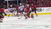 Backlund whistles OT winner through traffic