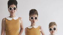 Esta mamá 'influencer' comparte armario con sus hijas