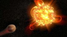 Scientists spotted a super flare originating hundreds of light years away, more powerful than those on our Sun sends out