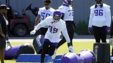 Back from neck injury, grateful Hunter excited about Vikes D
