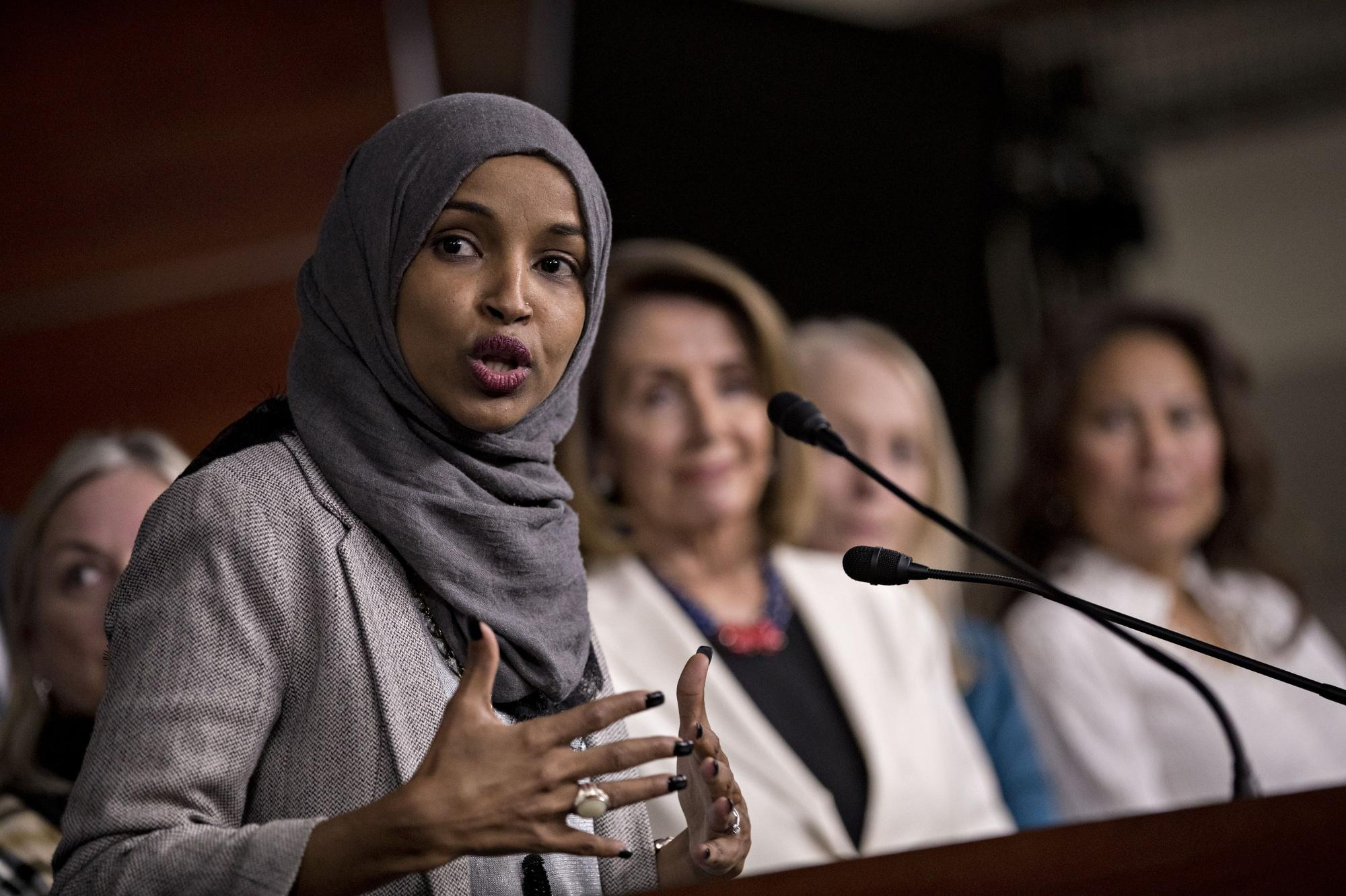 omar apologizes after pelosi blasts her use of  u2018anti
