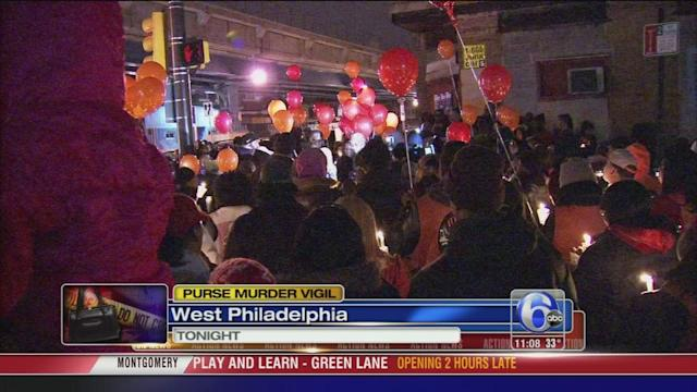 Vigil for W. Phila. purse snatching victim