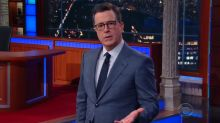 Stephen Colbert Sincerely Thanks Trump in Wake of Alexandria Shooting