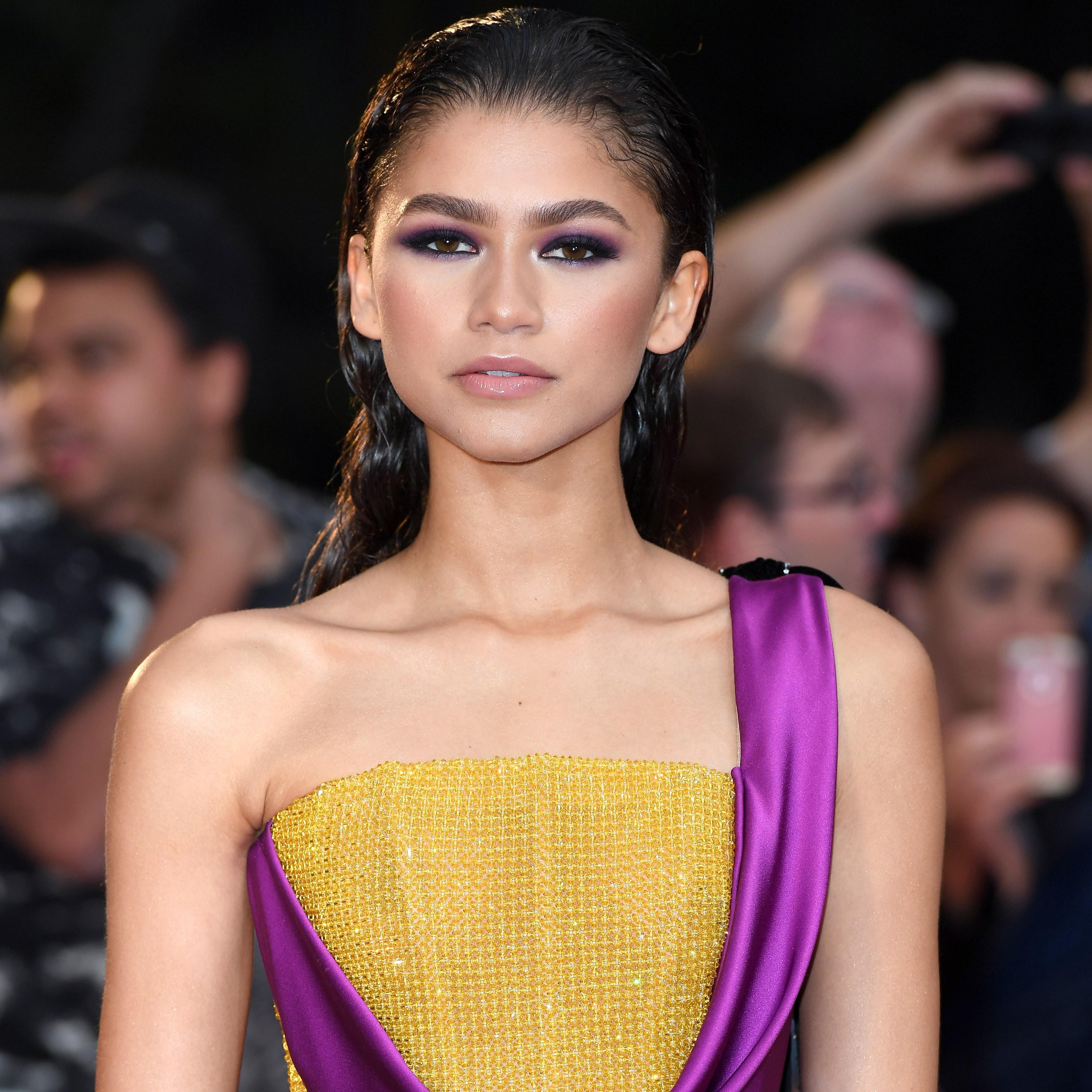 Zendaya Did Her Own Hair and Makeup for GQ Men of the Year Awards 2018 1912ba877