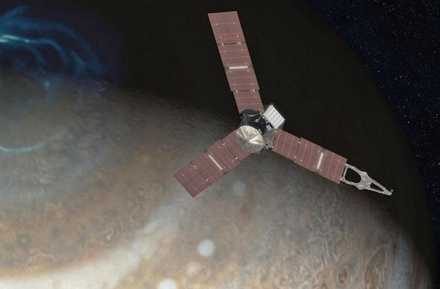 Juno's misbehaving engine means a change of plans around Jupiter