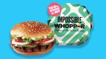 Burger King jumps on meat-free bandwagon, launches vegan 'Whopper' burger