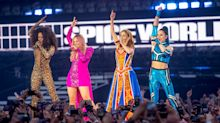 Spice Girls celebrate Mel B's birthday ahead of Manchester gig