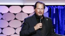 Salesforce CEO speaks about gender pay gap in Silicon Valley
