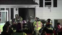 Woman, man escape burning home in Marple Twp., Pa.