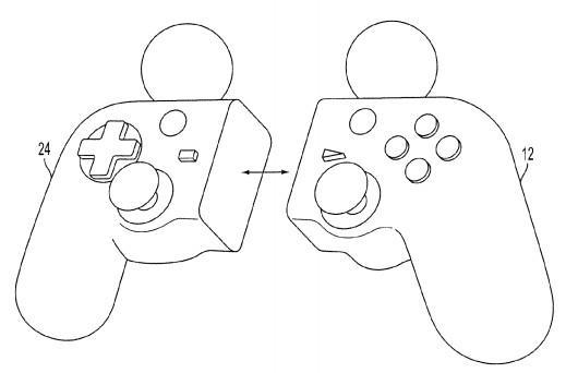 Sony files patent for transforming Move/DualShock controller