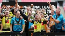 Harrogate see off Notts County on ascension day for manager Weaver