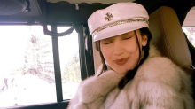 Bella Hadid is bringing baker boy hats back