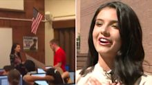 Beauty pageant winner's heartwarming act for victim of cruel prank