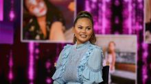Chrissy Teigen opens up about pregnancy anxiety and shares sweet video of daughter helping scan her bump