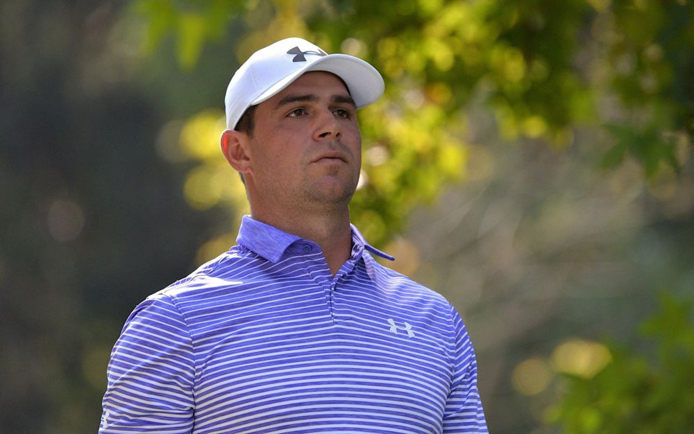 Gary Woodland withdrew from the WGC matchplay in Texas - Rex Features