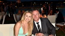 James Jordan's baby rushed to hospital in ambulance