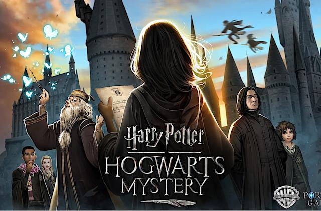 The latest Harry Potter mobile game puts Hogwarts in your pocket