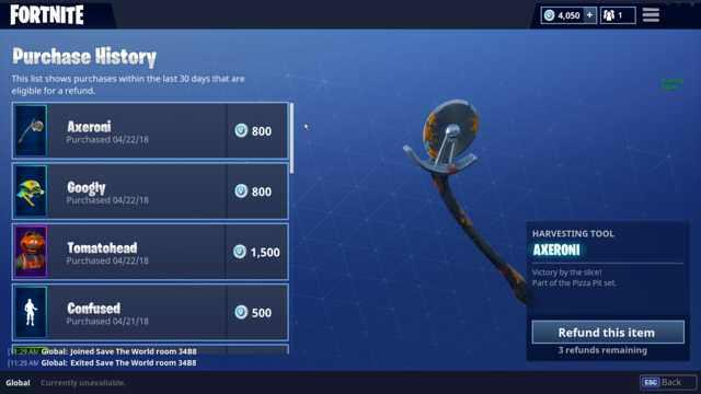 Fortnite Self Refund Feature How To Get Your V Bucks Back