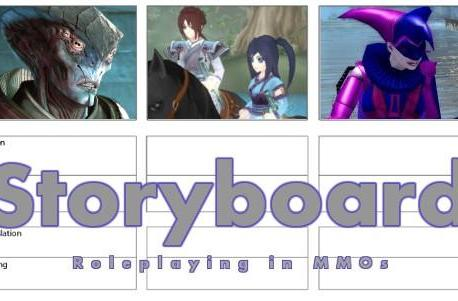Storyboard: On roleplaying projects