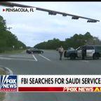 FBI searches for Saudi servicemen linked to NAS Pensacola shooting
