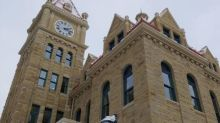 Don't set your watch to it — the century-old clock in old city hall isn't keeping time