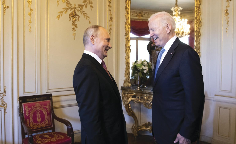 Biden returns from his first overseas trip