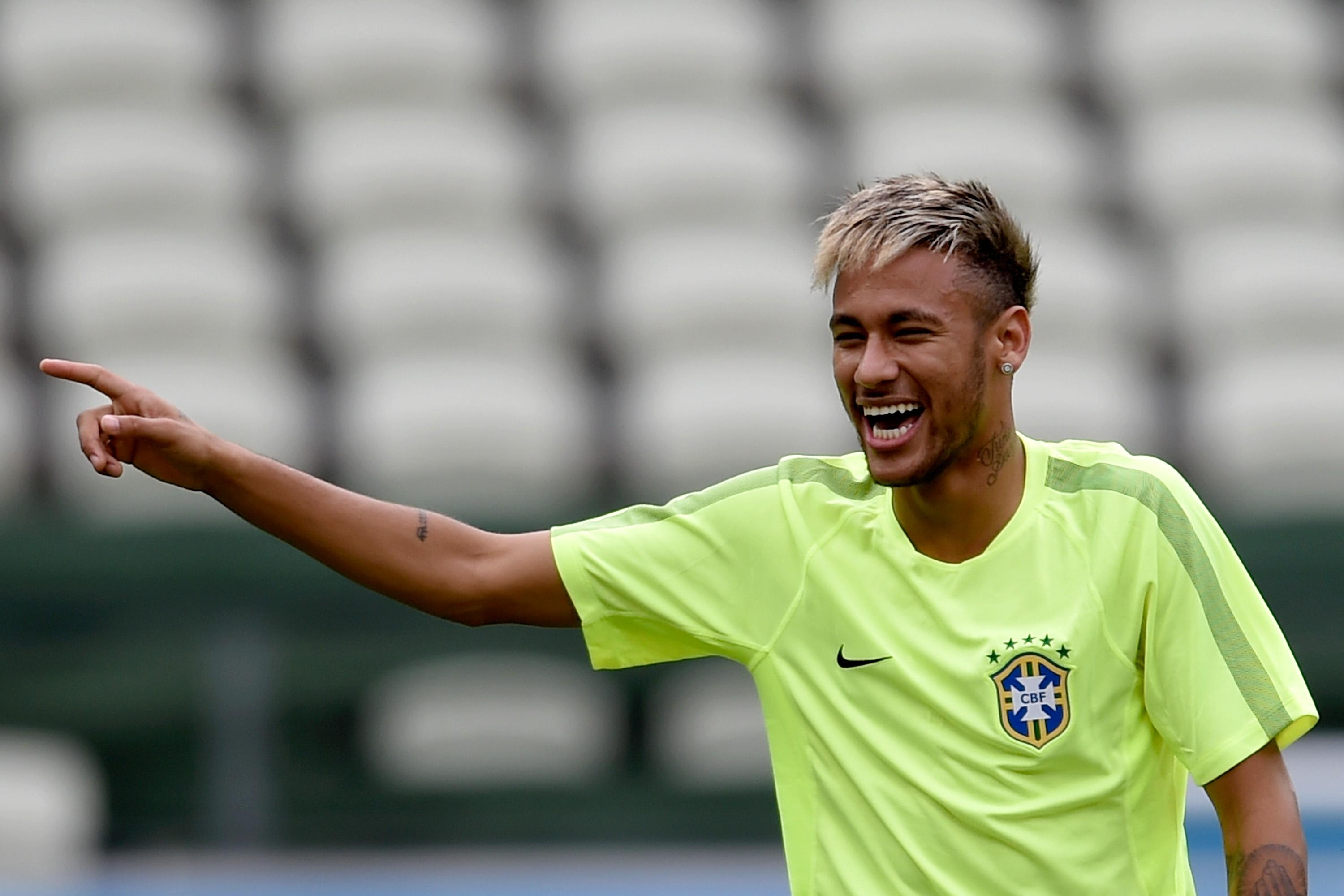 Neymar Jr Hairstyle 2014 World Cup