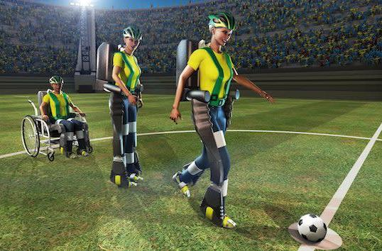 Paralyzed teen to kick World Cup's first ball with mind-controlled exoskeleton