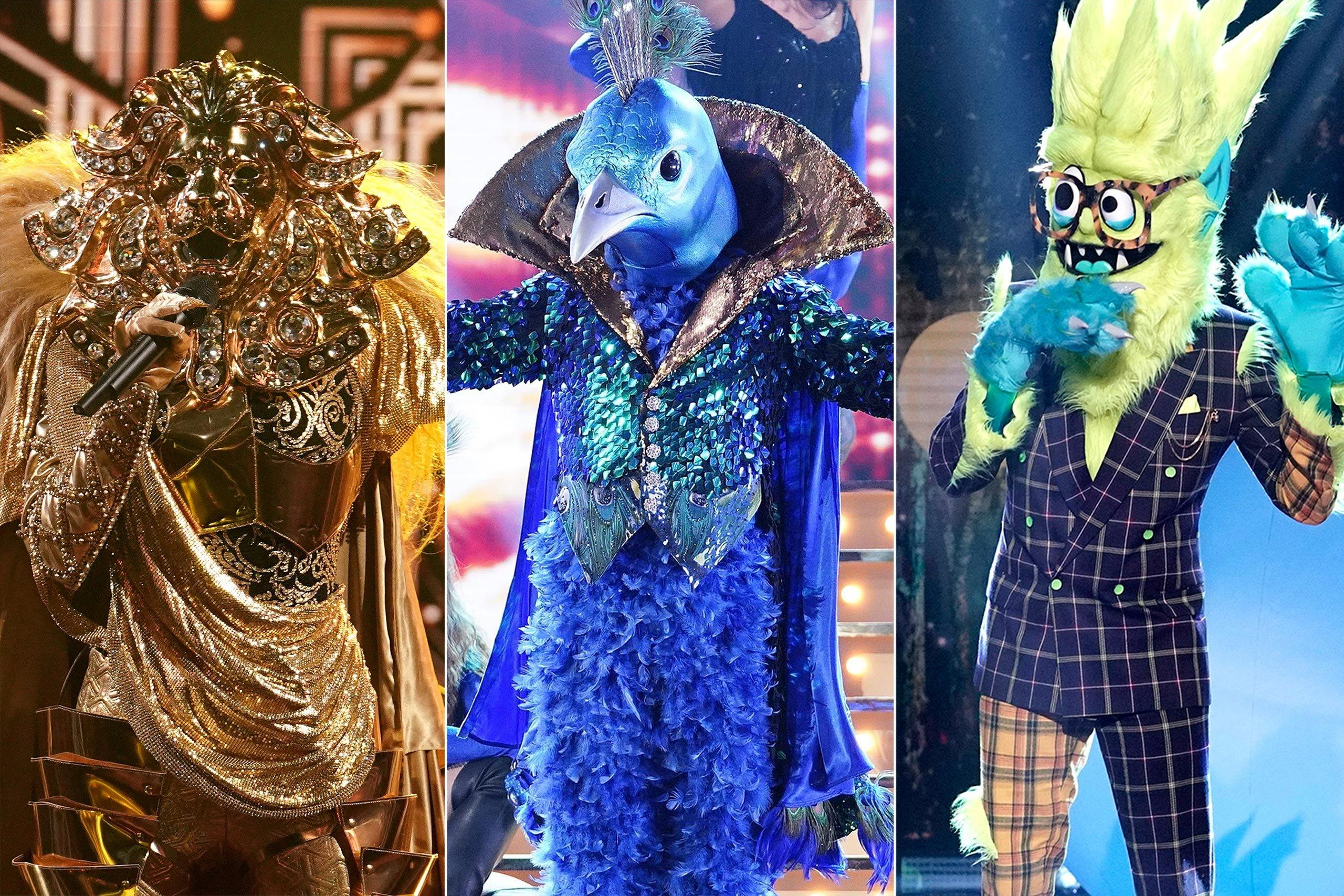 Best Fan Made Masked Singer Halloween Costumes Lions Peacocks And Thingamajigs Oh My