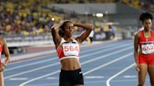 SEA Games: Shanti Pereira in tears after finishing third in 200m race