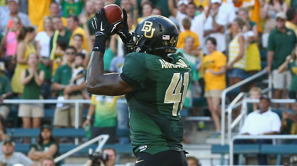 Former Baylor TE Tre'Von Armstead arrested on sexual assault charge