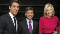 Sawyer Leaving Anchor Chair at 'World News'