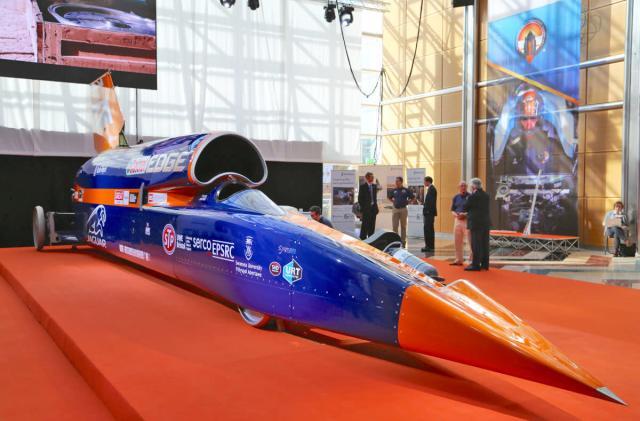 Bloodhound's rocket-powered test run delayed to 2019