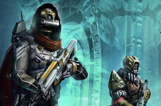 Destiny's The Dark Below DLC is lit up in launch trailer