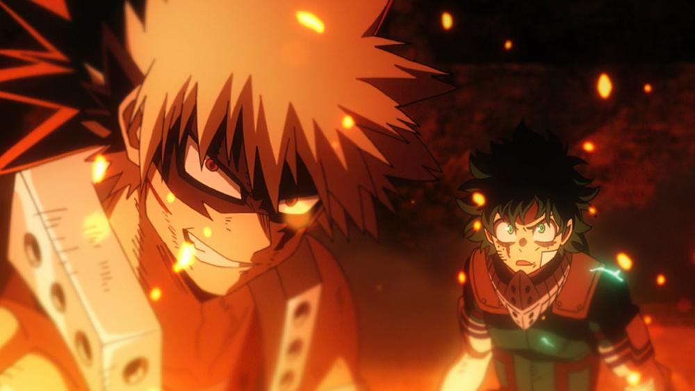 Rising vs Villain Deku My Hero Academia Ban My Hero Academia The Movie Heroes