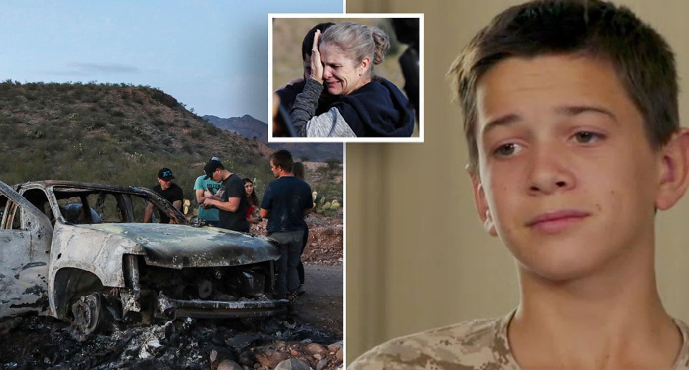 Teen reveals how he survived Mexican shooting massacre